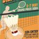 Badminton Tournament Vintage Style-Graphicriver中文最全的素材分享平台