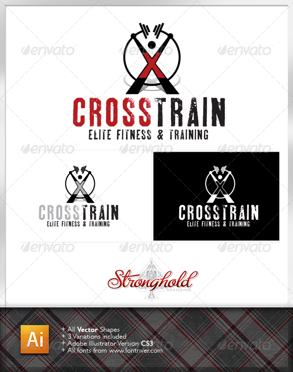 Cross Training Logo - Crests Logo Templates