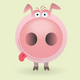 Funny little pig set - GraphicRiver Item for Sale