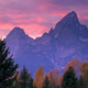 Teton Mountains at sunrise 2 - VideoHive Item for Sale