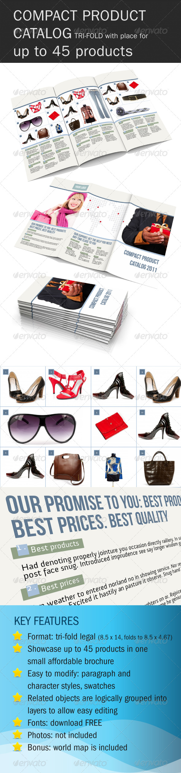 GraphicRiver Compact Product Catalog 186808