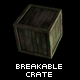 Breakable Crate Prefab - ActiveDen Item for Sale