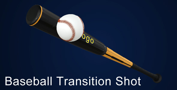 After Effects Project - VideoHive Baseball Transition Shot 1586452