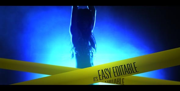 After Effects Project - VideoHive The Crime Intro 1586596