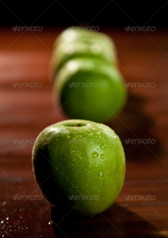 IGreen Apples - Stock Photo - Images
