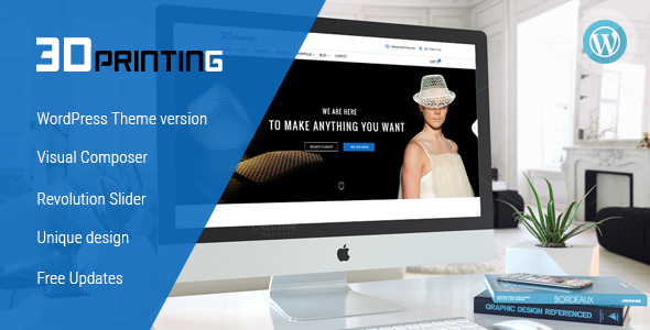 3D Printing - Responsive Elegant 3D Print & Scan Technology ...