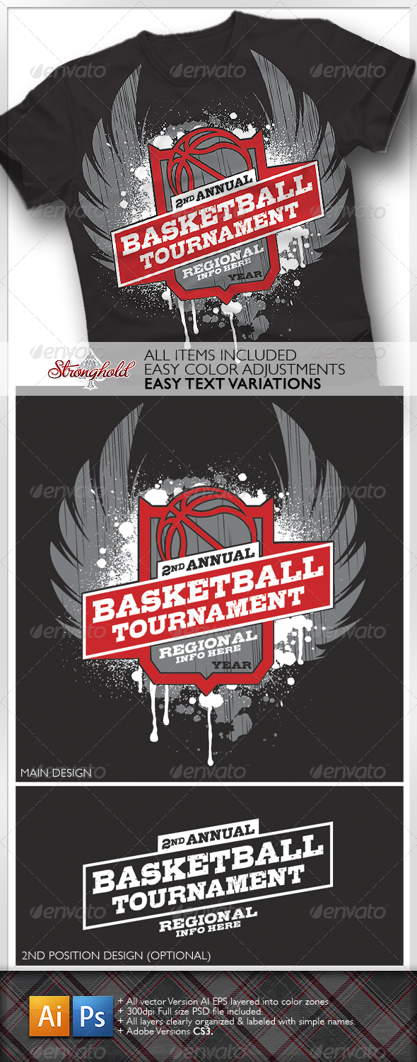 Basketball Tournament T-shirt - Sports & Teams T-Shirts