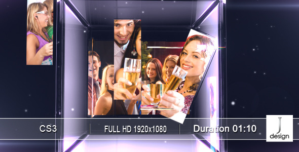 Videohive After Effects Project Glassspace