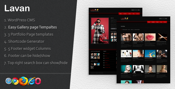 Lavan Fashionable WP CMS 7-1 - Fashion Retail