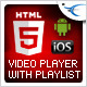 HTML5 Video Player with Playlist &amp;amp; Multiple Skins - CodeCanyon Item for Sale