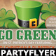 St. Patricks Party-Club Flyer Template v3 - GraphicRiver Item for Sale