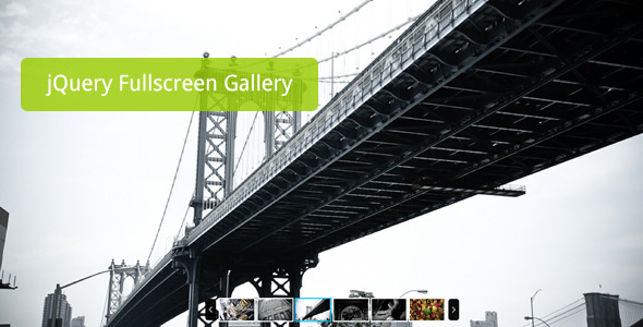 jQuery Resizable FullScreen Gallery Plugin - CodeCanyon Item for Sale