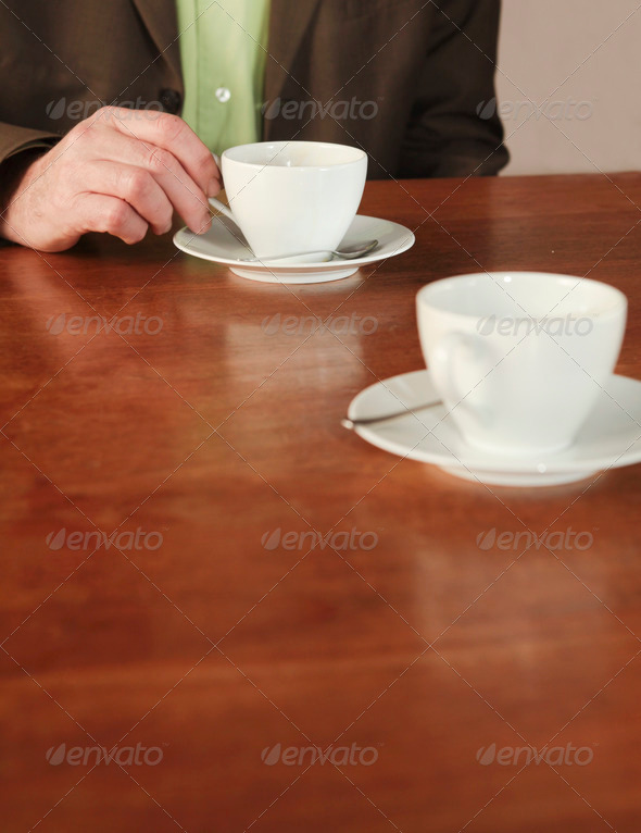 Business and coffee drinking - Stock Photo - Images