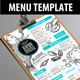 Seafood Menu Template-Graphicriver中文最全的素材分享平台