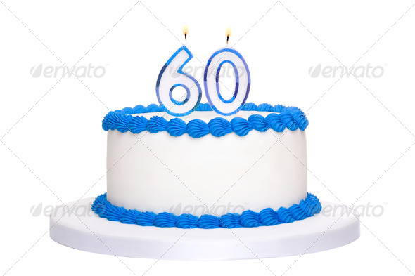 Birthday cake - Stock Photo - Images