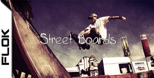 After Effects Project - VideoHive Street Boards 1594646