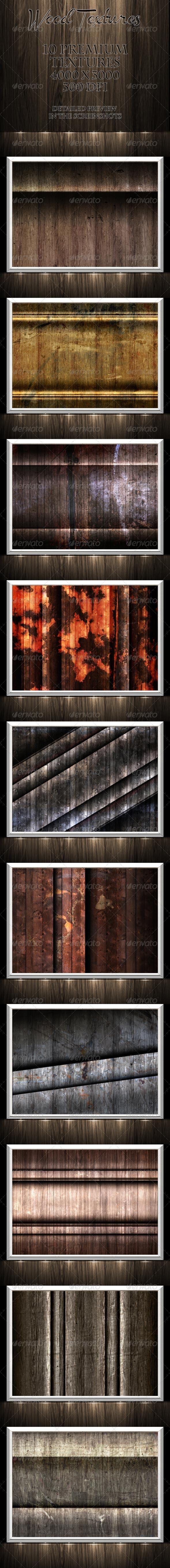 Wood Textures - Nature Backgrounds