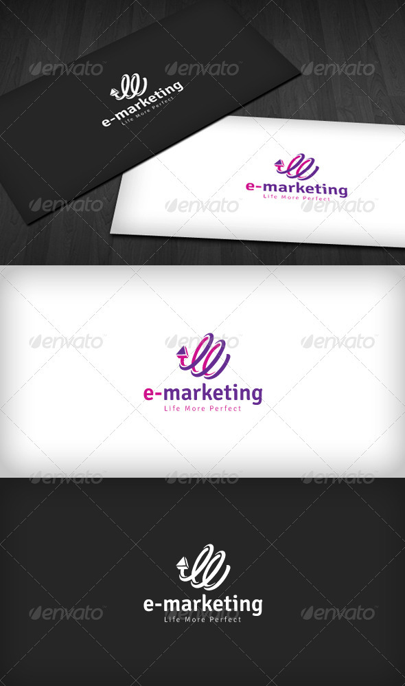 E-Marketing Logo - Symbols Logo Templates