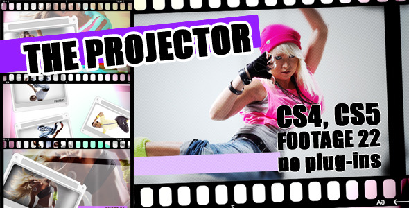 After Effects Project - VideoHive The projector 1599770