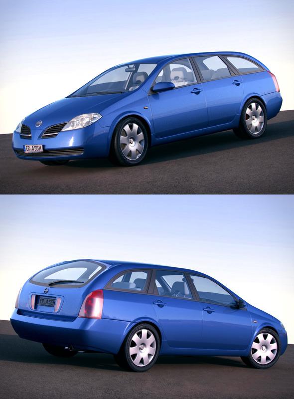 3DOcean Nissan Primera P12 Wagon 1191512
