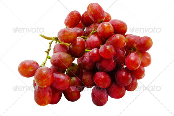 Fresh purple grapes. - Stock Photo - Images