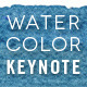 Watercolor Keynote Template - GraphicRiver Item for Sale