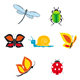 Set of insect icons - GraphicRiver Item for Sale