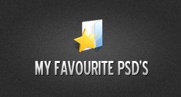 My Favorite PSD's