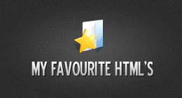My Favorite HTML's