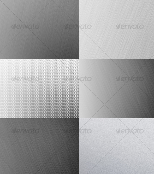 GraphicRiver Metal Backgrounds 62864