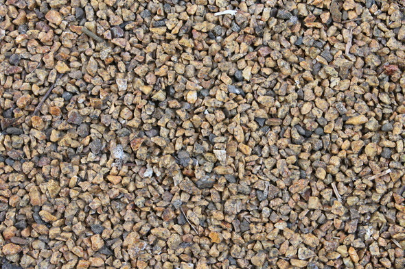 Beige Gravel - Stock Photo - Images