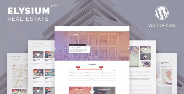 Elysium – Real Estate WordPress Theme