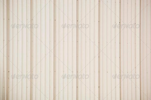 Corrugated Iron Background - Stock Photo - Images