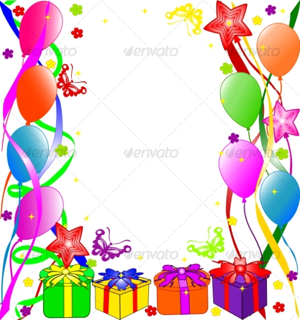 Graphic River Happy Birthday background Vectors -  Conceptual  Seasons/Holidays  Birthdays 63074