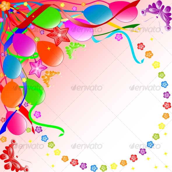 Graphic River Happy Birthday background Vectors -  Conceptual  Seasons/Holidays  Birthdays 63079
