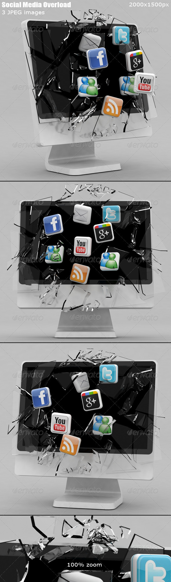 GraphicRiver Social Media Overload 1611933