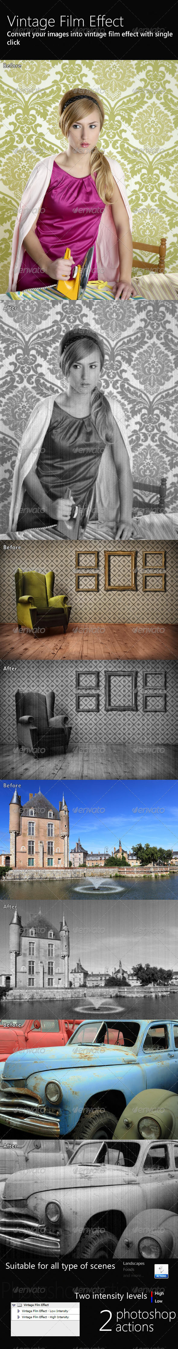 GraphicRiver Vintage Film Effect 233968