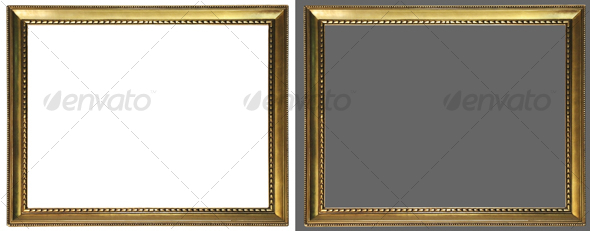 GraphicRiver Antique picture frame 02 63108
