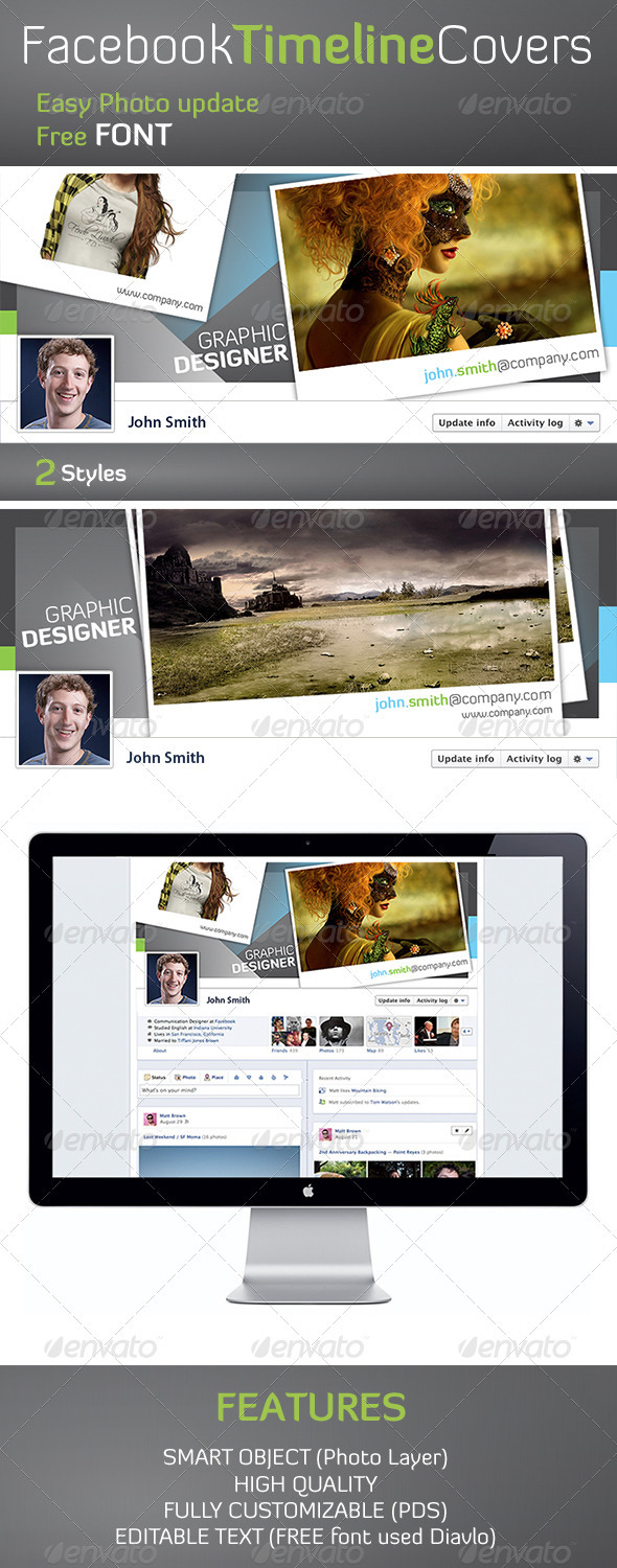GraphicRiver Cool Facebook Timeline 1 1613074