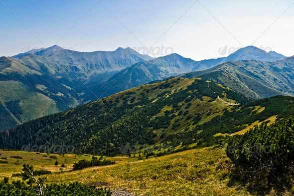 Western Polish Tatra Mountains - Stock Photo - Images