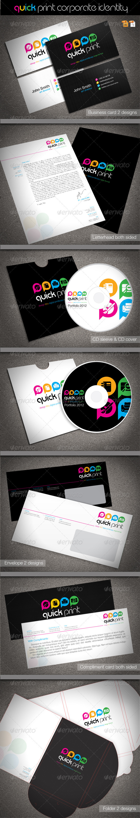 GraphicRiver Quick Print Corporate Identity 1613497
