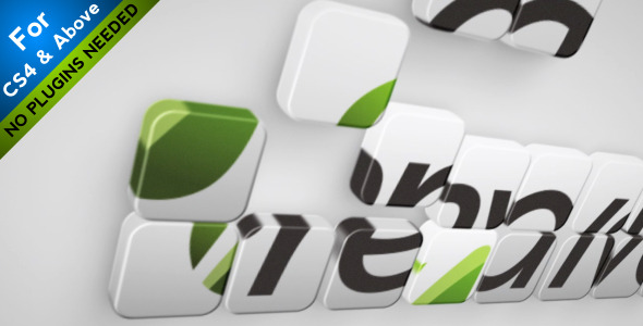 Plantilla after affect gratis VideoHive: Puzzle To Logo