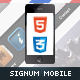 Signum Mobile | HTML5 & CSS3 And iWebApp - ThemeForest Item for Sale