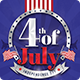 4th Of July Celebration Poster-Graphicriver中文最全的素材分享平台