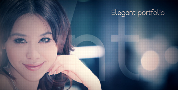 After Effects Project - VideoHive Elegant portfolio 408667