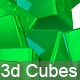 3D Reflected Cubes Background - GraphicRiver Item for Sale