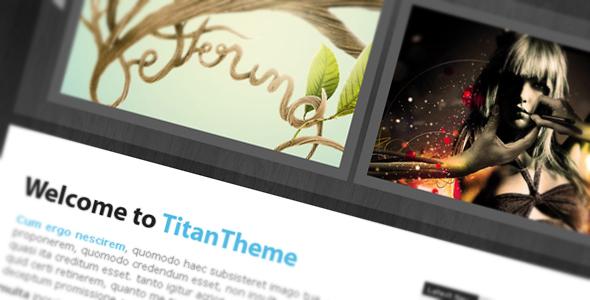 ThemeForest Titan Theme xHTML CSS 63287