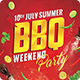 Barbeque Party Poster-Graphicriver中文最全的素材分享平台