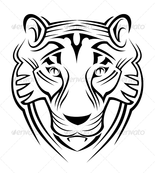Tiger sign - Animals Characters