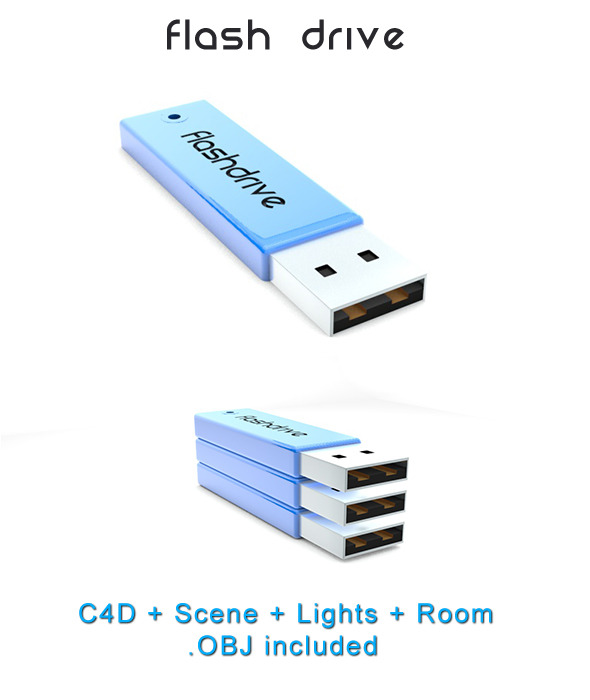 3DOcean Flash Drive 1621482